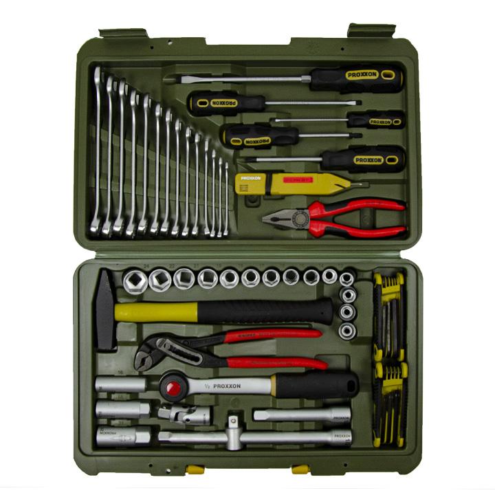 Proxxon Werkzeugkoffer Universalwerkzeugkoffer 43.teilig